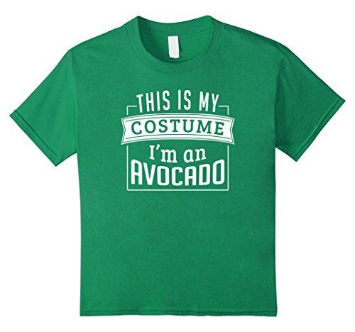 Last Minute Child Costume Ideas (Kids Last Minute Costume Ideas: This Is My Costume I'm An Avocado 10 Kelly Green)