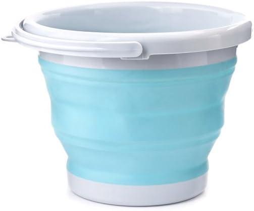 Kikkerland OR81-AQ Collapsible Bucket, Aqua