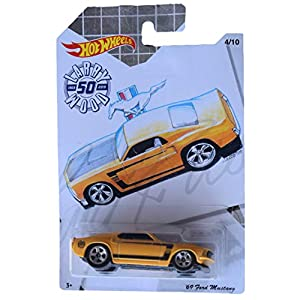 Hot Wheels '69 Mustang 4/10...