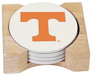 NCAA University Of Tennessee Absorbent Coaster Gift Set