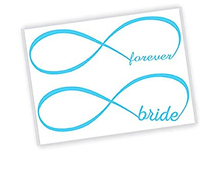 d59d09f86 Amazon.com   2 qty Wedding Something Blue Temporary Tattoos for the Bride  (4 tattoos total)   Everything Else