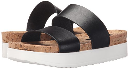 Amazon.com | Kensie Women's Boston Platform Sandal, Black, 10 M US |  Platforms & Wedges