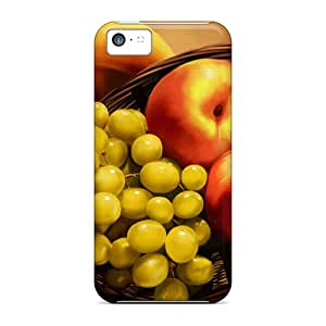 Hot Tpu Cover Case For Iphone/ 5c Case Cover Skin - Fresh Fruits On The Table