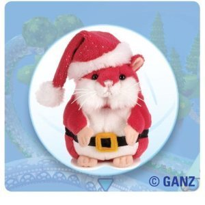 Webkinz Mazin' Hamster Nick Christmas RED with Free Webkinz Bookmark [Toy] by Webkinz -  Ganz, 4658804