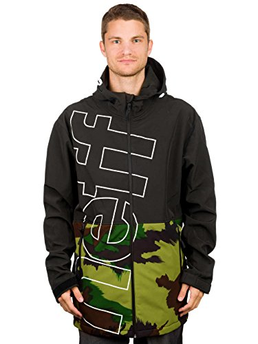 ftshell Jacket, Black/Camo, Large ()