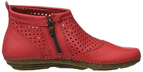 Soft Ankle El N389 Torcal Red Boots Grain Women's Grosella Naturalista nnvYTWf