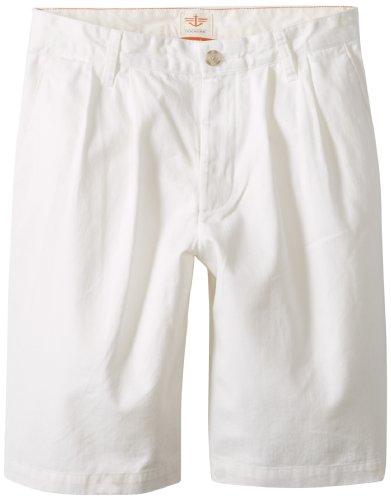 Dockers Men' D3 Pleated Soft Khaki Short