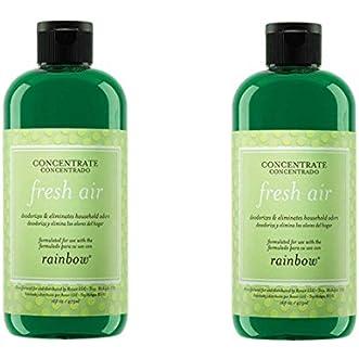 2 PACK- Genuine Rainbow Fresh Air Freshener / Deodorizer