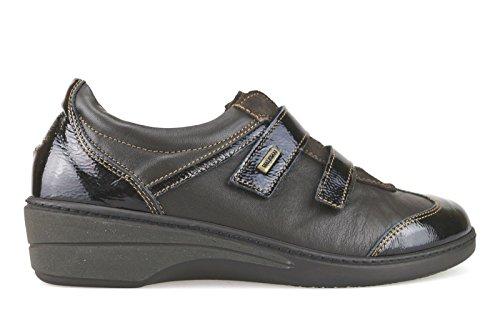 WALKSAN sneakers Femme 42 EU marron cuir daim cuir verni AJ691