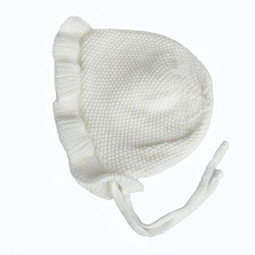 Price comparison product image Pogah Newborn Baby Bonnet, Toddler Infant Winter Warm Knit Beanie Hat Caps | 0-6 Month