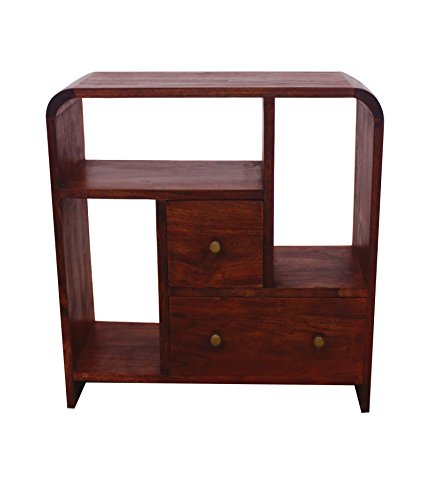 NES Furniture Nes Fine Handcrafted Furniture Solid Teak Wood Maria Display Case - 28""