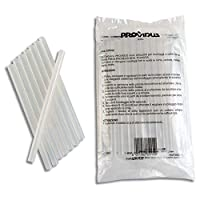 Colle transparente standard en bâton diam 11 mm sachet de 1 kg 50 batons