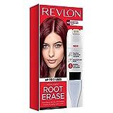 Revlon Root Erase Permanent Hair Color, Root Touchup Hair Dye, Burgundy, 3.2 Fluid Ounce