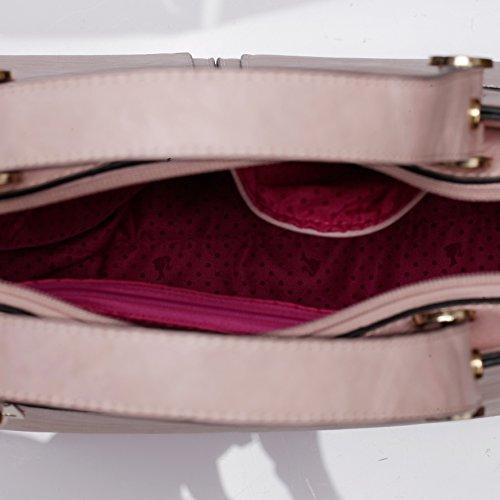Barbie Bolso bandolera para Mujer Boloso a mano de estilo moderno y elegante BBFB584 (marrón) marrón