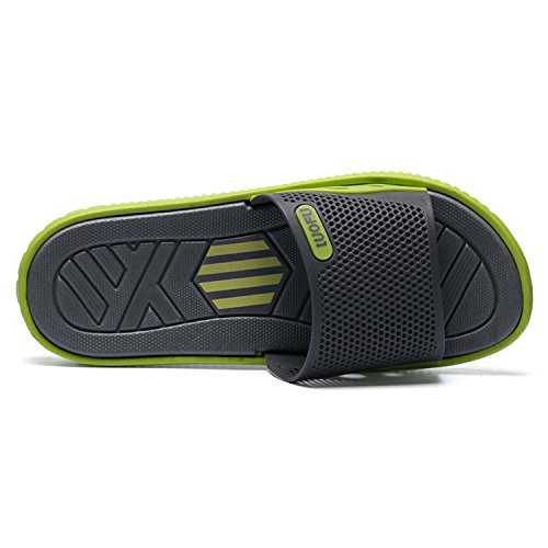 Gray Sandals Green Shoe Men's PHILDA Slide Slip On Beach FOxAq6R