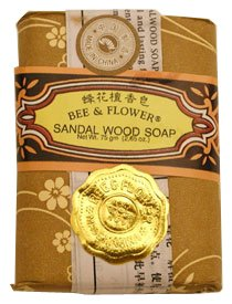 Price comparison product image Bee and Flower Sandal Wood Soap 12 Bars Set
