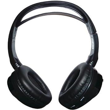 Concepto cdc-ir10 doble canal con cancelación de ruido auriculares inalámbricos por infrarrojos: Amazon.es: Electrónica