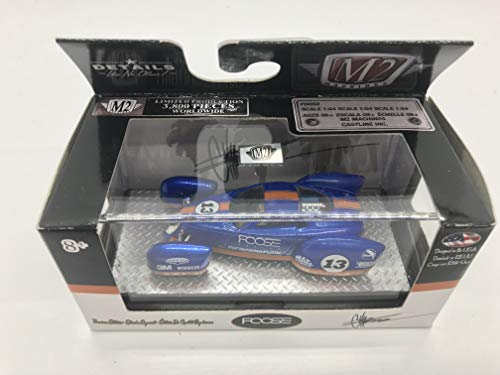 M2 Machines FOOSE Foose Coupe Land Speed Racer 1/64 CF03 16-38 Blue Details Like NO Other! Over 42 Parts 1 of 3800 (Car Speed Land)