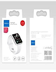 ROCK Full Coverage Screen Protector for Apple Watch 44mm Hydrogel Protective Film 2 Pieces - Clear