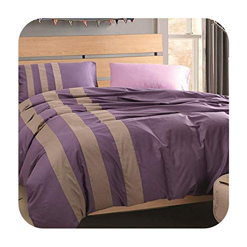 Sport Style Cotton 4pcs Bedding Sets Stitching Color, used for sale  Delivered anywhere in USA