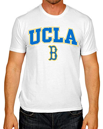 Campus Colors UCLA Bruins Arch & Logo Gameday T-Shirt - White