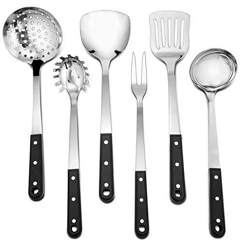 Kitchen Set Stainless Steel Murah: Stainless Utensil Sets Steel Kitchen Set, 6 Piece Cooking