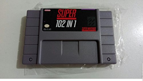 Multi cart 100 in 1 Super NES (Red Cartridge + Hard plastic dust Cover)