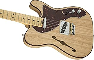 Fender 0114312700 American Elite Telecaster Thinline - Guitarra eléctrica para diapasón (madera de arce)