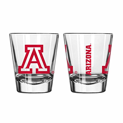 Boelter Arizona Wildcats 2oz NCAA Gameday Shot Glass - Clear,