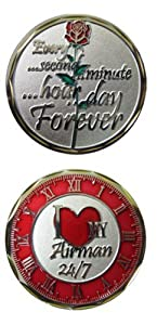 I Love my Airman 24/7 Challenge Coin