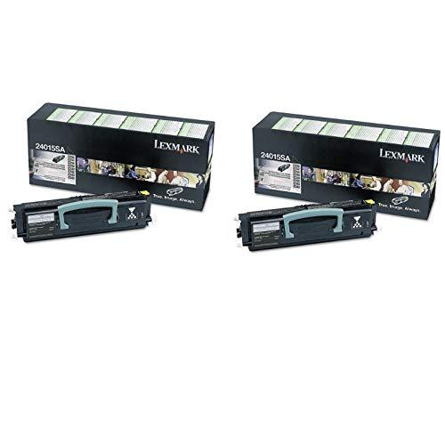 (Lexmark 24015SA Return Program Toner Cartridge 2-Pack for E330, E340, E342)