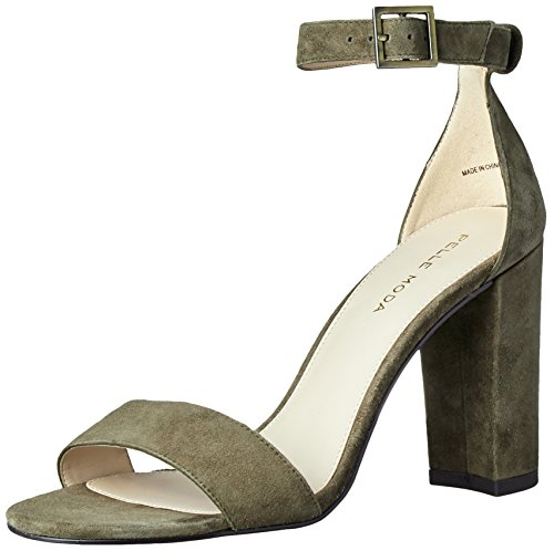 Pelle Moda Women's Bonnie Dress Sandal, Olive, 7.5 B US by Pelle Moda