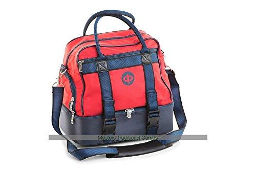 Drakes Pride Midi Bowls Bag (red color)