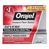 Orajel Severe Toothache Pain Relief 0.33 oz