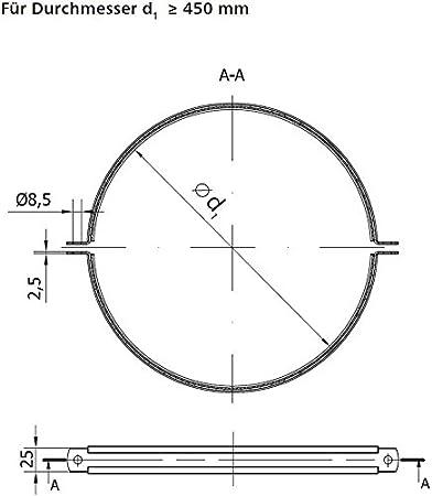 18094-001 MKK Schienenkonsole Auslegerkonsole Wandtr/äger Schwerlasttr/äger Tr/äger Gewindestange Schwerlastkonsole 400 mm