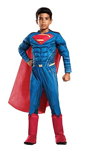 Rubie's Costume Boys Justice League Deluxe Superman Costume, Large, Multicolor]()