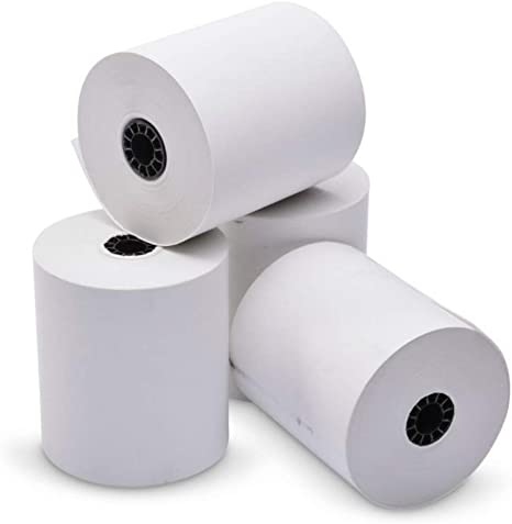 "25 NEW ROLLS  *FREE SHIPPING* STAR MICRONICS THERMAL PAPER 3-1//8/"" x 230/'"