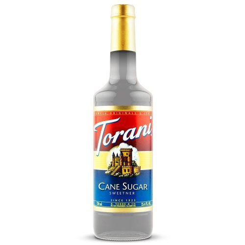 - Torani Cane Sugar Sweetener Syrup, 750 ml