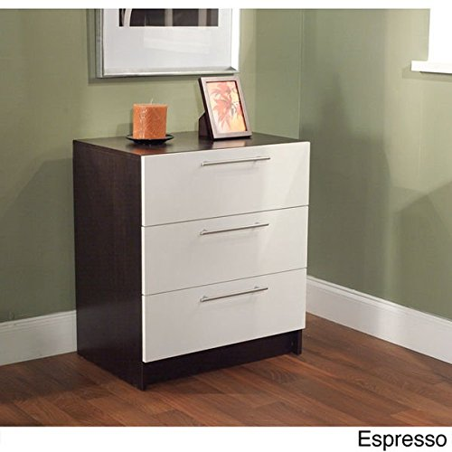 Three Drawer Chest - Espresso