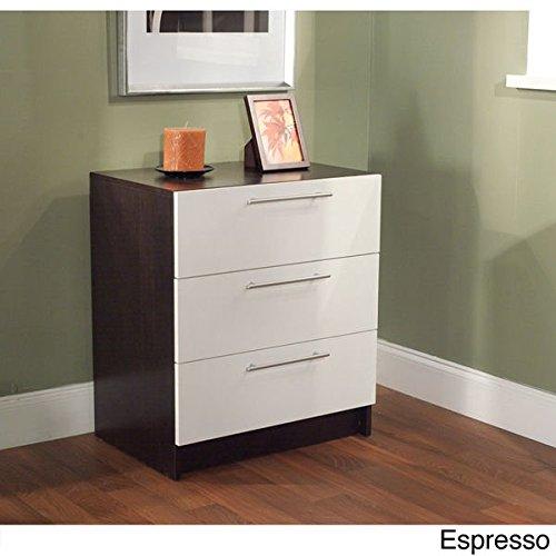 Three Drawer Chest - Espresso