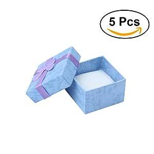 NUOLUX Cajas para Joyas Cajas de Carton para Joyeria Cajas Regalo ...