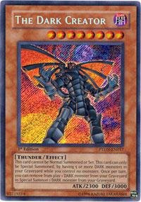Yu-Gi-Oh! - The Dark Creator (PTDN-EN017) - Phantom Darkness - Unlimited Edition - Secret Rare