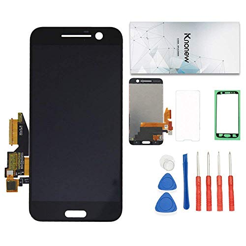 KNONEW Screen Replacement Compatible for HTC One 10 M10 M10H 2PS6400 Glass LCD Display Touch Digitizer Assembly + Tools ()