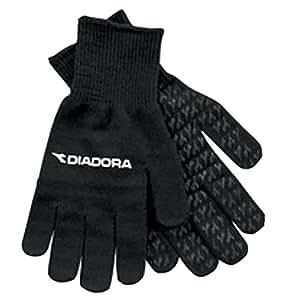 Diadora Men's Player's Gloves,Black,L