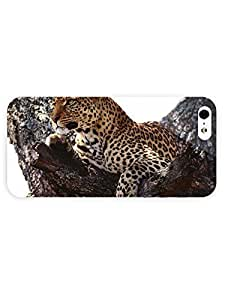 3d Full Wrap Case for iPhone 5/5s Animal Leopard In The Tree11