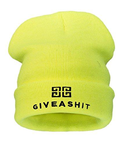 4sold tama amarillo Giveashit o gorra de universal neo negro de para hombre qq7trTUwxv