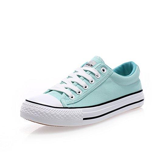Clásico par de lona de color claro/Zapatos de mujer/ Coreanos bajo transpirable zapatos casuales de plano/Zapatos del tablero/escoge los zapatos H