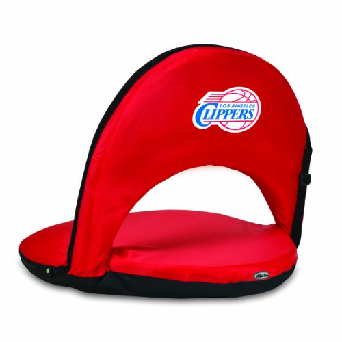 PICNIC TIME NBA Los Angeles Clippers Oniva Portable Reclining Seat, Red by PICNIC TIME