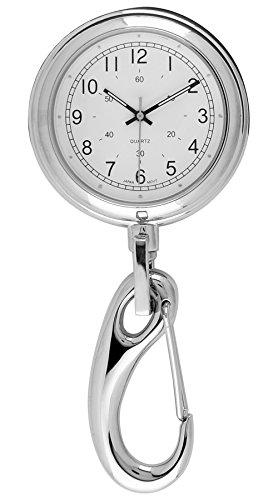 Moulin Unisex Clip-on Silver Watch #4095.75830