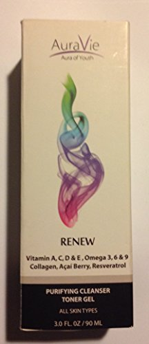 AuraVie RENEW Purifying Cleansing Toner Gel (Purifying Toner)